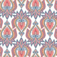 Ethnic background pattern vector