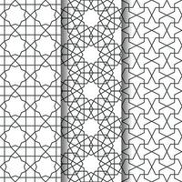 Islamic geometry pattern vector