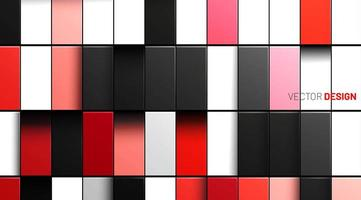 Abstract colorful shiny tiles background vector