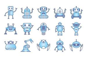 paquete de iconos de robots