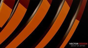 vector de fondo de formas geométricas abstractas. textura ondulada