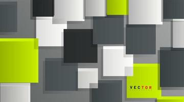 Abstract geometric background. Overlapping 3d squares. Vector Illustration For Wallpaper, Banner, Background, Card, landing page , etc