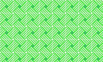 Green Pattern Vector Illustration. Element. Symmetrical Pattern