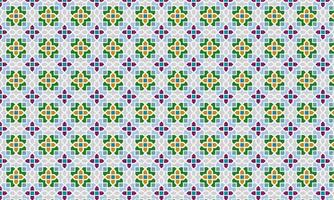 Colorful Classic style Pattern Vector Illustration. Element. Ornament. Colorful and Symmetrical Pattern