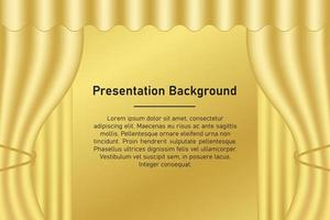 Gold Presentation background