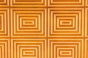 Orange geometric wood panel background