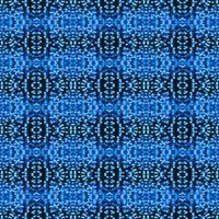 Abstract repeated blue bokeh background photo