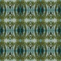 patrón verde simétrico abstracto