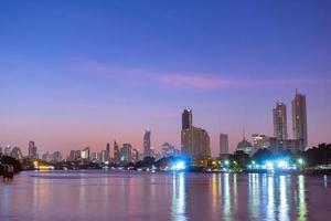 edificios y rascacielos en bangkok