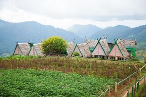 Cottages at a farm in Thailand
