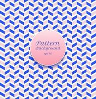 Resumen patrón transparente raya chevron azul y rosa sobre fondo blanco. vector