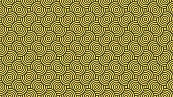 Yellow and gray circle abstract modern pattern vector