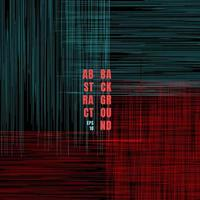 Abstract grunge pattern blue and red scratch lines on black background vector