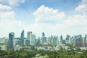 ciudad de bangkok a la luz del día