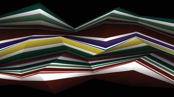 Horizontal stripes of dark zigzag lines that look harsh vector