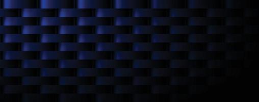 Dark blue rectangle abstract background vector