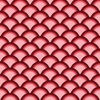 Abstract Circle Shaped Pattern vector