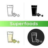 icono de leche de soja