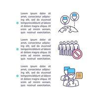 icono de concepto de red de médicos con texto