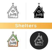 icono de refugio religioso