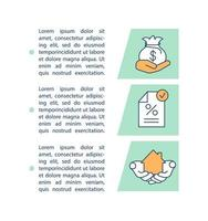 Mortgage agreement concept icon with text