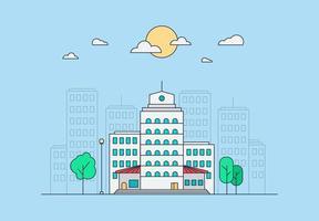 concepto de vida de la ciudad vector