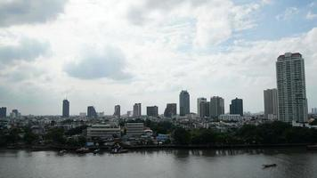 timelapse da cidade de Banguecoque na Tailândia