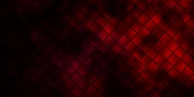 Dark Purple, Pink vector background with rectangles.