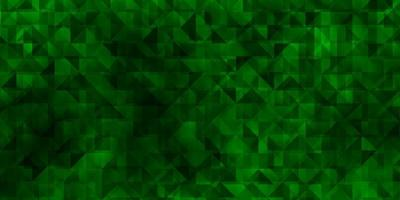 Light Green vector background with polygonal style.