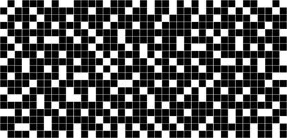 Fondo abstracto patrón de cuadrícula a cuadros en blanco y negro vector