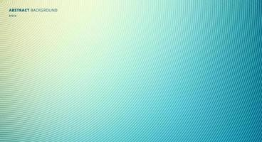 Abstract Blue Blurred Background with Circles Radial Texture. vector