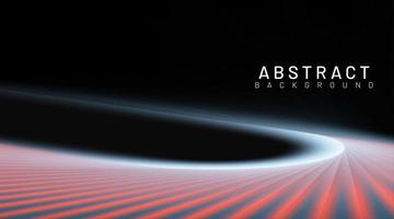Abstract tech road background vector
