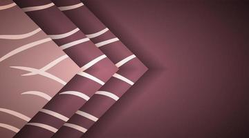 Abstract background with overlapping brown rectangles. vector design illustration