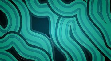 diseño de fondo vectorial con concepto de línea paralela y textura de onda. vector