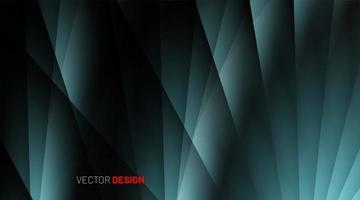 Fondo abstracto azul verde 3d