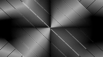 Diseño de fondo de vector abstracto con líneas paralelas brillantes.