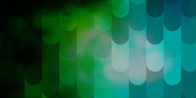 Light Blue, Green vector pattern with lines.