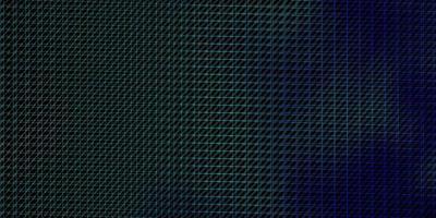 patrón de vector azul oscuro, verde con líneas.