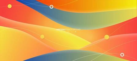 Abstract colorful background. Fluid shapes background concept. Vector EPS 10