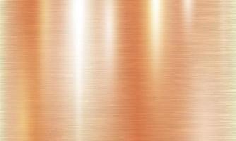 Rose Gold metal brushed texture effect background vector illustration