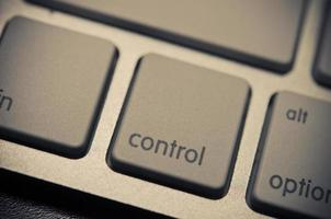 Control button on keyboard