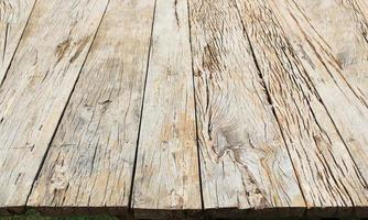 Rustic light wooden surface photo