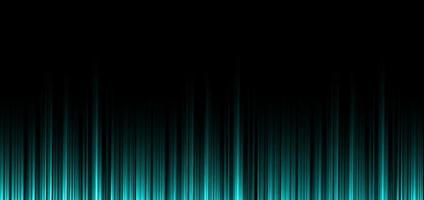 Abstract green mint stripe vertical lines light on black background. vector