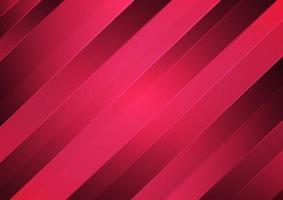 Fondo degradado rojo diagonal geométrico abstracto. vector