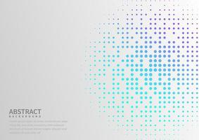 Blue and purple Random Dots Background. vector