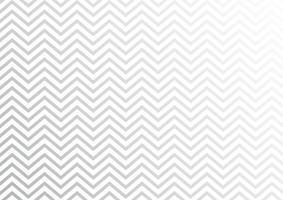 Patrón de línea en zig zag blanco transparente abstracto sobre fondo gris.