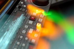 Resumen de tablero de grabadora