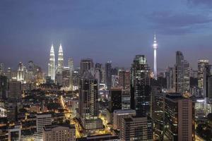 Kuala Lumpur, Malaysia, 2020 - Night at Kuala Lumpur photo