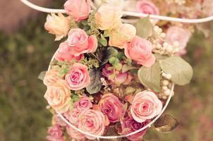 Ramo de rosas foto