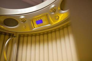 Tanning system interior
